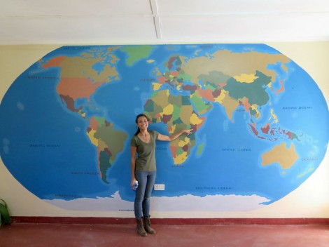 Pamela Sendee, founder of Humans of Change, visited Kisaruni Secondary School.